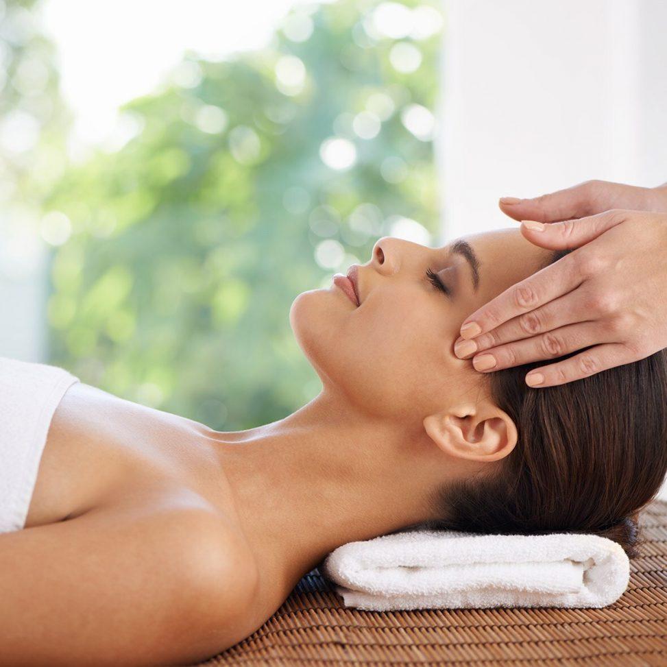Minska stress massage